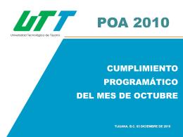 POA 2003 - Universidad Tecnologica de Tijuana