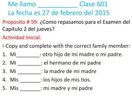 601 Proposito 59 STUDENT