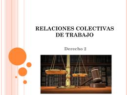 derecho laboral presentacion