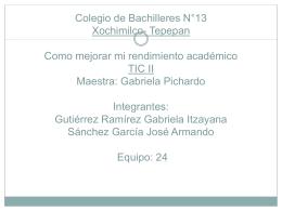 Gutiérrez Ramírez Gabriela Itzyana Sanchez García