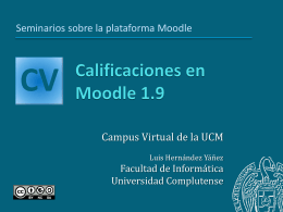 Calificaciones - Facultad de Informática