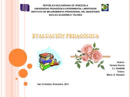 Diapositiva 1 - evaluacionpsicopedagogica