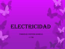 electricidad - yorgelis centeno