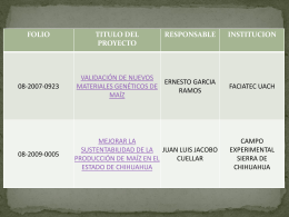 Presentación11 - Fundación Produce Chihuahua