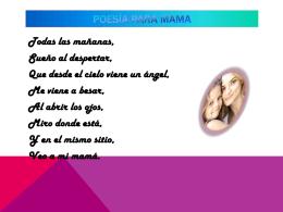 Poesía para mama