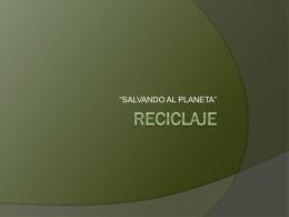 RECICLAJE - tododetic2