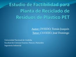 Diapositiva 1 - Universidad Nacional de Córdoba