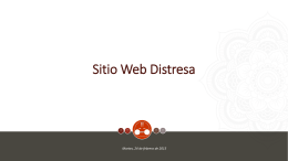 Sitio Web Distresa