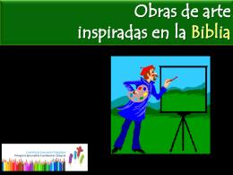 arte inspirado en la Biblia