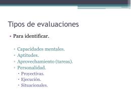 Evaluaciones Psicométricas para las Organizaciones.