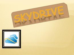 SkyDrive - InformaticaLiceodelSur