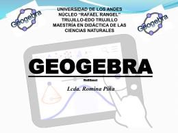 webquest geogebra - maestría en didáctica de las ciencias naturales