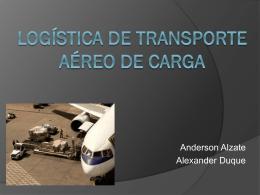 Logistica de transporte aereo de carga (429211)