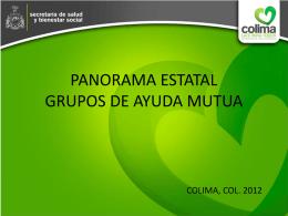UNEME EC COLIMA - Secretaría de Salud