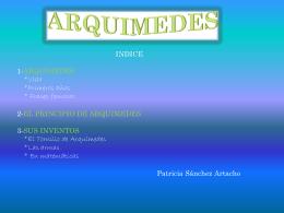 Arquímedes - emiliogalileotecno