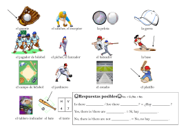 ML 428- Baseball Vocabulary
