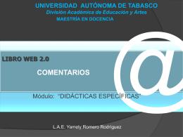 La web 2.0 como entorno TECNOSOCIAL