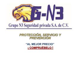 PROTECCIÓN, SERVICIO Y PREVENCIÓN
