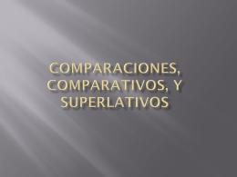 comparativa - Espanol 1020