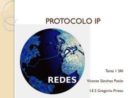 Protocolo IP - vicentesanchezsri