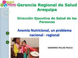 El ACS y su intervención en la promoción de la alimentación y