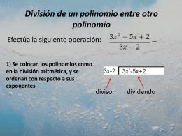 albebra 11 div polinomio entre polinomio