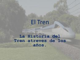 El Tren - 2010-UESJLS