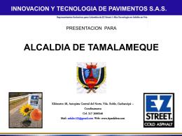 Presentacion Tamalameque