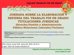 TFG Jurídico - Diario Digital de la UJA
