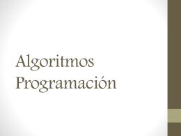 Algoritmos Programación2.