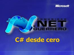 C# desde cero - Sesion 5