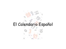 Calendar Notes (PPT)
