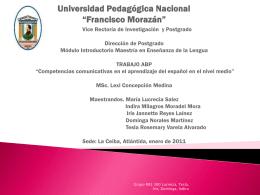 Diapositiva 1 - espanol2011jannette