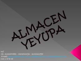 ALMACEN YEYU