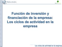 Tema 1. La actividad económica
