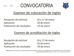 convocatoria - Instituto Tecnológico de Iztapalapa