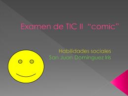San Juan Dominguez IRIS tic2