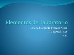Elementos del laboratorio