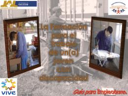 Guía para Empleadores La Formación para el Trabajo de un(a)