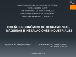 Medición del trabajo - ERGONOMIA-Y-CIBERNETICA-ENERO