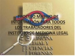 PROCESO DE INFORMACION MASIVO