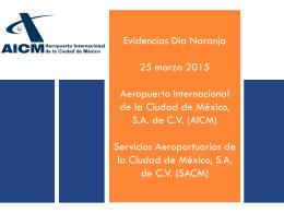 Evidencias Día Naranja AICM