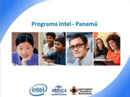 File - Formación Master Teacher INTEL Panamá 2014