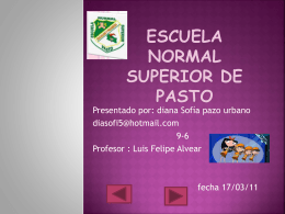 Escuela normal superior de pasto