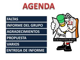 Presentación de PowerPoint - Información del grado 6