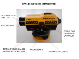 7. Partes Nivel de Ingeniero