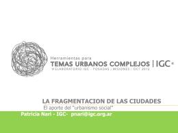 Patricia Nari (IGC Rosario)
