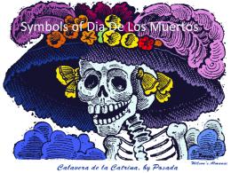 Symbols of Dia De Los Muertos