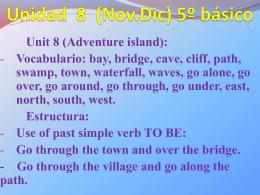 Presentación N° 8 (Nov.