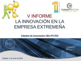 Presentación de PowerPoint - Cátedra de Innovación